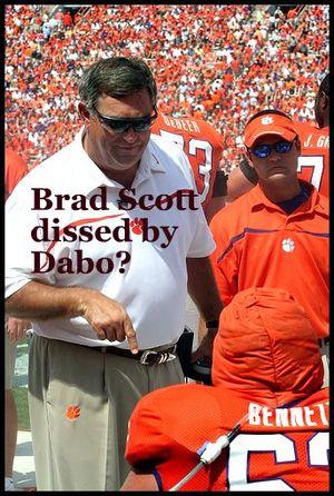 Scott dissed