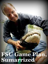 FSU-uf game plan