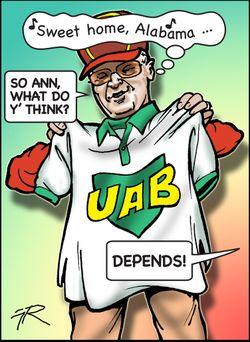UAB bobby