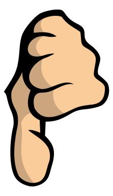 Thumb-down