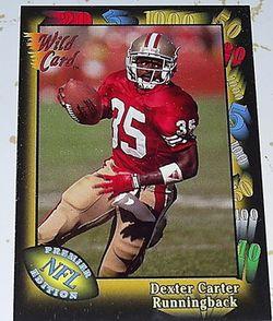 Dex Carter card