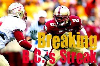 Break streak