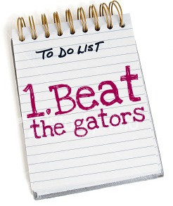 Beat the gators To-Do