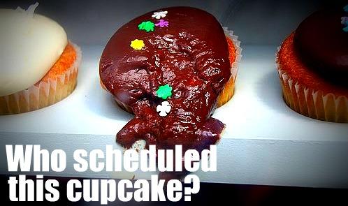 Sked cupcake