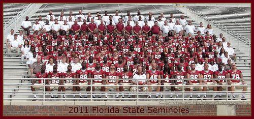 FSU Media Day 2011 team