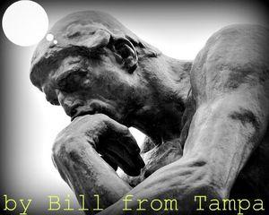 BFT Thinker statue