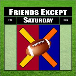 Friends Expect Saturdays Logo X FINAL