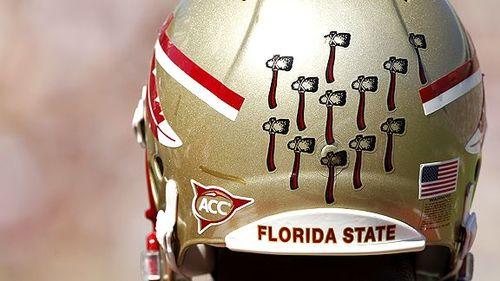 FSU helmet stickers