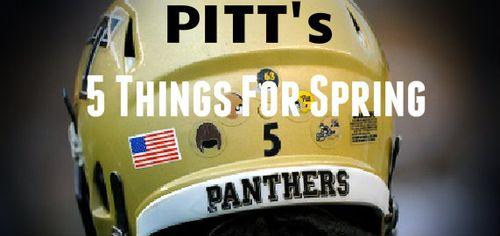 Pitt 5 Things