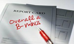 Report card B-