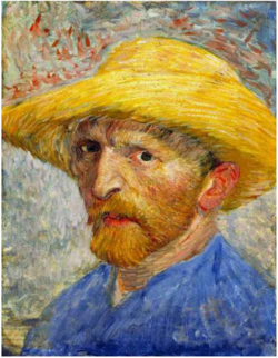 Self-Portrait-with-Straw-Hat